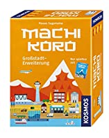 Machi Koro - Großstadterweiterung: Für 2 - 4 Spieler ab 8 Jahren.