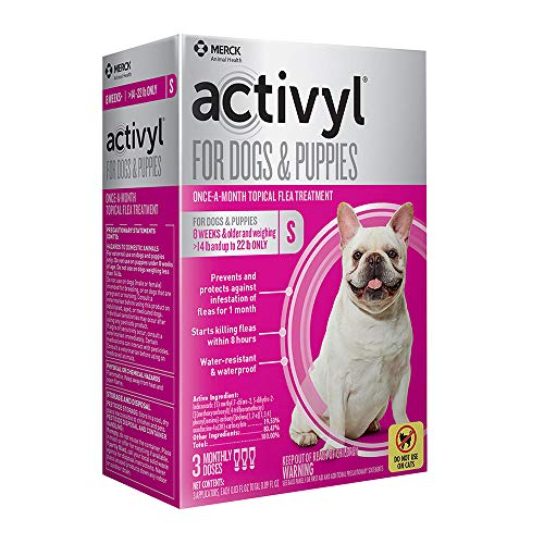 Activyl Small Dogs & Puppies 15-22lbs, 3-pack