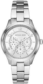 c262fde5d Relógio Michael Kors Feminino Runway Prata Mk6587/1kn