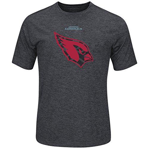 Cool Base Majestic NFL Football T-Shirt Arizona Cardinals Breakaway Synthetic (S)