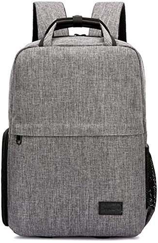 Camera backpack Camera Backpack Waterproof Photography Bag Large Capacity Multifunctional Camera Rucksack Waterproof backpack-30x18x42cm_Gray