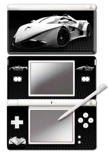 Nintendo DS Lite - Modding Skin -Carbon Car-