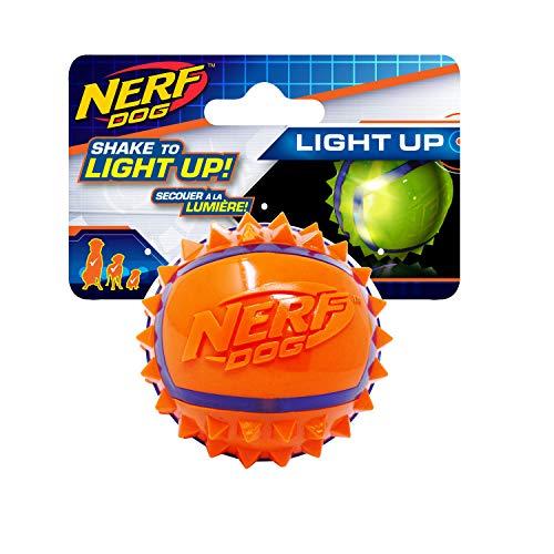 Nerf Dog Pelota de araña LED para Perro