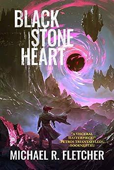 Black Stone Heart (The Obsidian Path Book 1) by [Michael R. Fletcher]