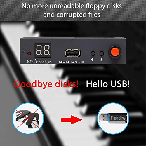 Best Prices! Nalbantov USB Floppy Disk Drive Emulator N-Drive 100 RB for Technics SX-KN 1400 and SX-...