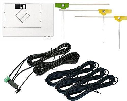 AVN-R8W 対応 GPS一体型 地デジ アンテナ セット/地デジ/フルセグ/VR-1 【イクリプス】