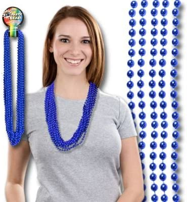 Blue Mardi Gras Today's only Beads mart 33