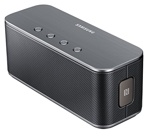Samsung Original Reproductor Nivel Carcasa Bluetooth Altavoces Kompatibel mit iPhone, iPad, iPod, Smartphone, Tablet, MP3 - Schwarz