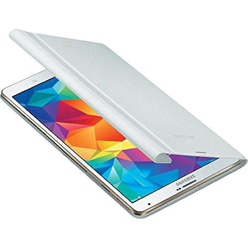 Samsung Folio Schutzhülle Book Hülle Cover für Galaxy Tab S 8.4 Zoll - Weiß