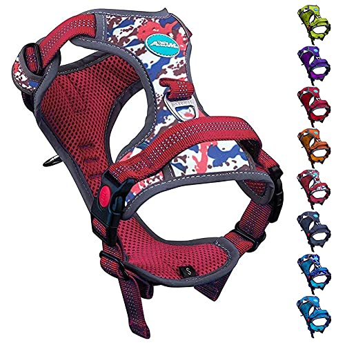 ThinkPet No Pull Harness Breathable Sport Harness...