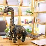 JMKHY Simulation Dinosaur Plush Toys Soft Cartoon Pillows Lifelike Tyrannosaurus Stuffed Doll for Boys Kids Birthday M_(65-105cm)_Seismosaurus