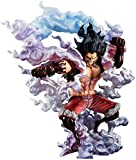 XFHJDM-WJ Regalo de cumpleaños Siyushop Onepiece Portrait of Pirates: Sa-MAX Luffy Snake Man PVC Figura - Monkey D Luffy Fourth Gear PVC Figura - Alto 10 6 Pulgadas LIJ471