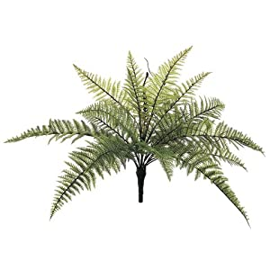 23″ Mountain Fern Silk Plant -18 Leaves (Pack of 12)