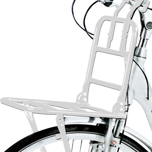 """Fahrrad Frontgepäckträger für 24\""""-28\"""" Räder - Gepäckträger - weiß"""