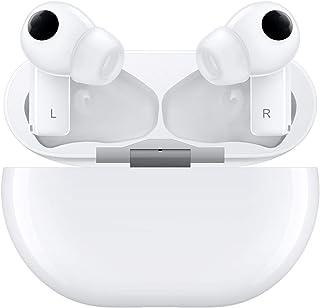 سماعات راس فري بادز برو T0003 اللاسلكية داخل الاذن من هواوي، مزودة بخاصية الغاء الضوضاء وتعمل بالبلوتوث 0.5 - سيراميك وايت