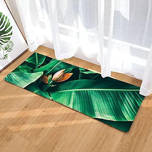 OPLJ Tappetini da Cucina 3D Antiscivolo Moderno Soggiorno Tappeto Stampa Divano Cuscino Camera da Letto Tappeto Comodino Tappeto A18 40x120 cm
