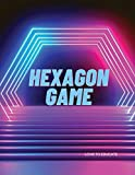 Hexagon Game - 2 Player Activity Book for Kids