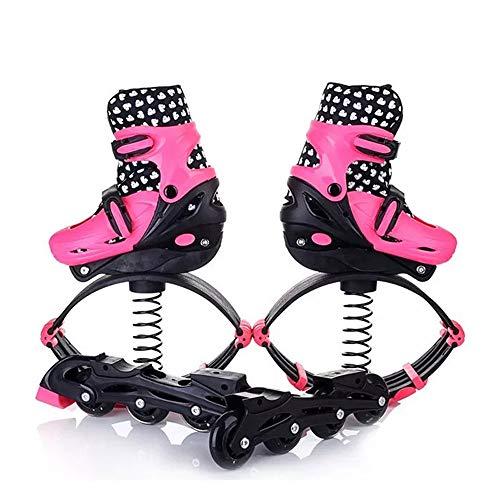 SMLJJHW Space Roller Spring Schuhe, Jugend/Kinder Springschuhe, Erwachsene Herren und Frauen Anti-Gravity Sportartikel, für Laufen/Basketball/Speed Training