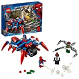 LEGO Super Heroes Spider-Man vs. Doc Ock, Set da Costruzione 2in1 con Spider-Girl e la Moto, 76148