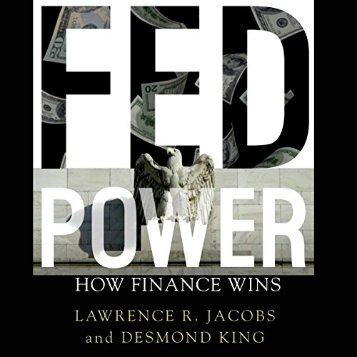Fed Power audiobook cover art