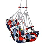 Cotton Swing for Kids Baby's Children Folding and Washable 1-4 Years with Safety Belt Home Garden Jhula for Babies for Indoor Outdoor(Multicolor)