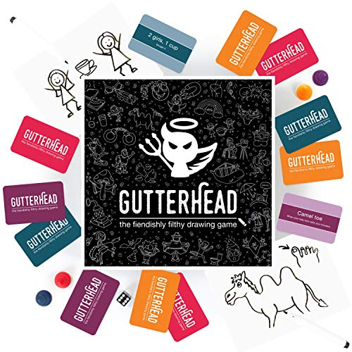 Gutterhead - The Fiendishly Filthy Drawing Game [Party Game for Adults]
