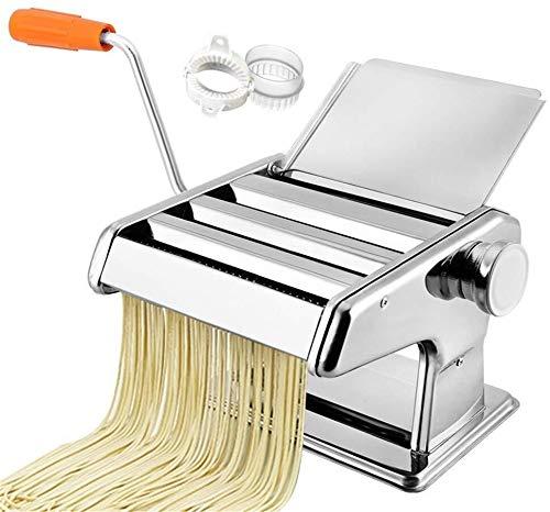 YONGRU Manuelle Nudelmaschine Maschinen, Edelstahl Pasta Cutter, Made In Italien, Pasta Cutter, Handkurbel, Anleitung