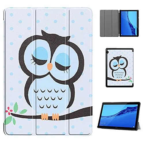 KATUMO Hülle Kompatibel mit Huawei Mediapad T5 10 - Ultra Slim Leder Tasche Hülle Skin für Huawei Mediapad T5 10 10.1 Zoll (2018) Schutzhülle Smart Hülle Cover mit Standfunktion