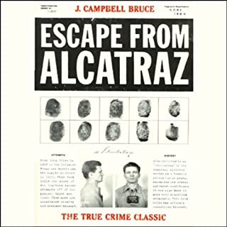 Escape from Alcatraz audiobook cover art