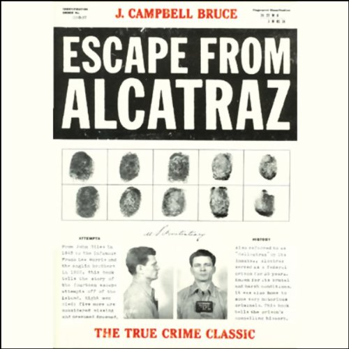 Escape from Alcatraz audiobook cover art