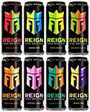 Reign Total Body Fuel, 8 Flavor Variety Pack, Fitness & Performance Drink, 16oz (Pack of 8)