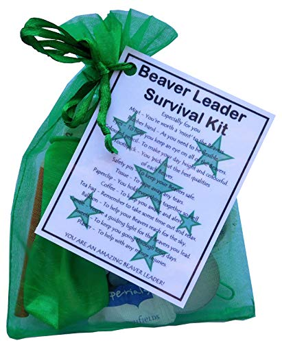 SMILE GIFTS UK Beaver Leader Survival Kit Gift (Great present for...