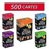 Glop 500 Cartes - Jeu à Boire - Jeu de Société pour Apéro & Soirées - Jeux de Cartes Adulte - Jeux de Plateau