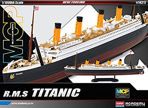1 1000 R.M.S. TITANIC MCP (Multi Farbe parts)  14217 ACADEMY HOBBY KITS by Academy