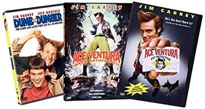 Jim Carrey 3-Pack: (Dumb and Dumber / Ace Ventura Pet Detective / Ace Ventura When Nature Calls)