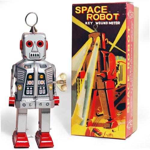 SPARKLING ROBOT - Figurine Jouet Retro