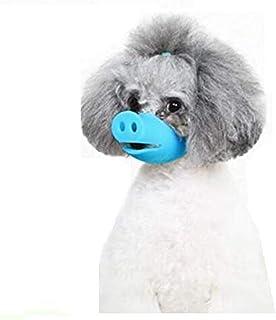 Mumoo Bear Adjustable Anti Bite Dog Mask Muzzles Dog Mouth Cover Pig Mouth Shape Anti Muzzle Masks