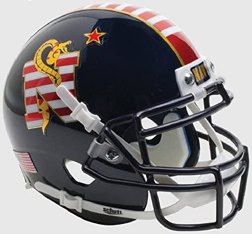 Schutt High quality NCAA Navy Limited Special Price Midshipmen Mini Helmet Football Authentic XP