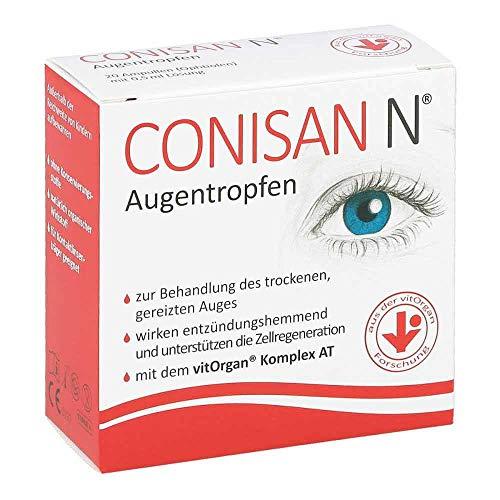 CONISAN N Augentropfen, 20 St. Einzeldosispipetten
