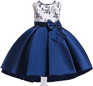 BestGift Summer Kids Dresses For Girls Wedding Dress Elegant Toddler Girls Princess Dress Children Evening Party Dresses ...
