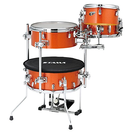 Tama CJB46C-BOS Cocktail JAM Kit, Bright Orange Sparkle
