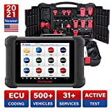 Autel MaxiSys MS906 Diagnostic Scanner with Free Battery Tester AB101, 2020 New Model with 30 Special Functions, Active Test, Key Fob Programming, ECU Coding(Upgraded of MaxiDAS DS808 MP808)