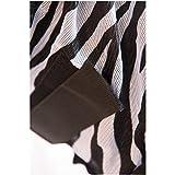 Fliegendecke Zebra mit Halsteil und Bauchlatz HKM by Reiterladen24 weiß/schwarz 135cm