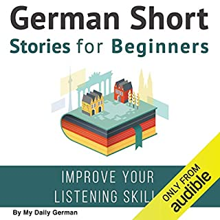 German Short Stories for Beginners audiobook cover art