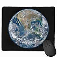 地球 マウスパッド ゲーミング オフィス最適 防水 耐久性が良い 滑り止めゴム底 マウスの精密度を上がる 25x30cm
