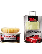 3M Combo of AS Cream Wax (220 ml) and Cloth