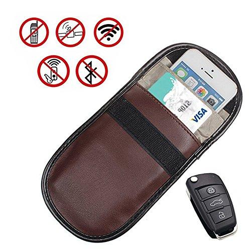 GSM/LTE/RFID Blocking móvil–Evita de tarjetas RFID de chip, Teléfono móvil de localización y eléctrico Electrosmog Keyless Go–Llave de Coche, funda RFID Key Safe Inyección de dubens®