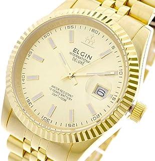 エルジン ELGIN 腕時計 メンズ FK1422G-G クォーツ ゴールド