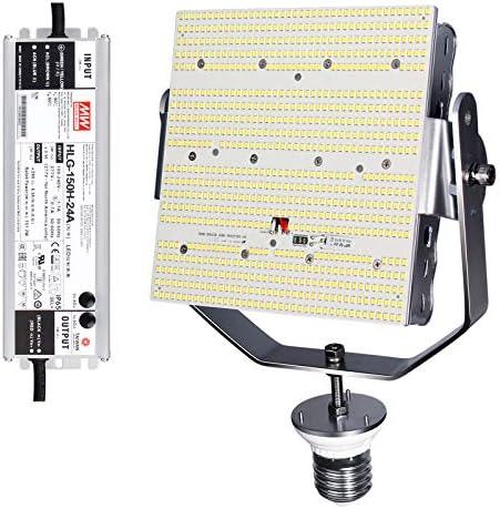 150W Shoebox LED Retrofit Kit 21750LM 600w Metal Halide E39 Mogul Base 5000K LED Retrofit Light product image