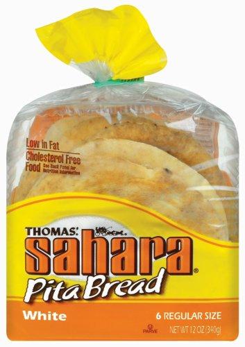 Thomas' Sahara Pita Bread - White, 12 oz